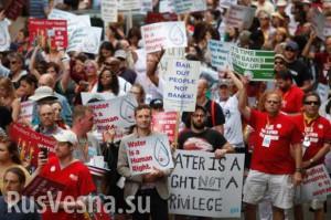 У США відбуваються масові відключення води